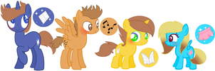 MLP My cousins from Albania by DrawingwithBleona