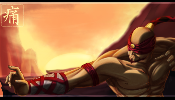 lee sin by Dhako889