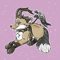 Willow \\ Animal jam fox by Blossybear