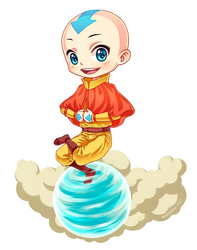 Avatar Aang by Nukababe