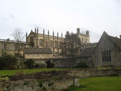 STOCK - Christ Church College by MetalCath