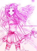 magical fairy angel thingy by onetealeaf