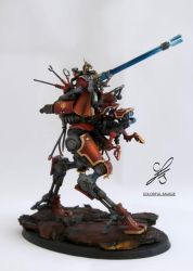 The Sydonian Dragoon - full view by Colorfulsavage