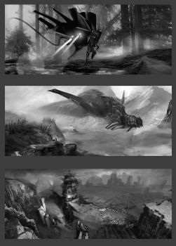Sketch-shots (artbook) by AnDary