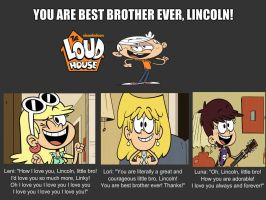 The Loud House - Best Brother by Bart-Toons