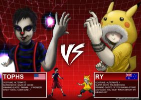 Tophs VS Ry II by Bluelava6