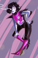 Mettaton by CalypsoVantas
