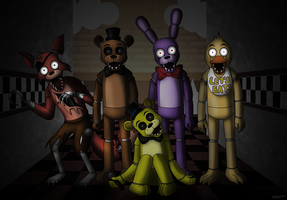 Five Nights of Fear by NatLeo