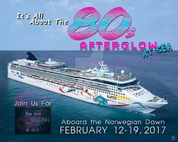 AfterGLOW Fan Party Cruise Promo Flyer by simplemanAT