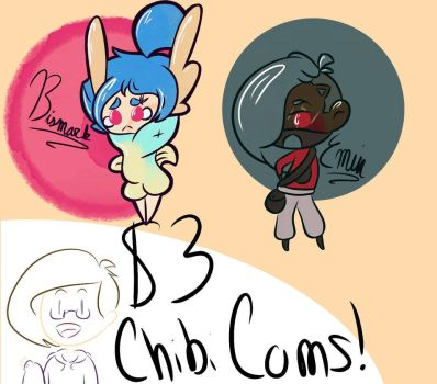 Chibi Commissions! (OPEN) by SnowTyke