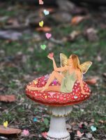 Valentine Fairy by Shirley-Agnew-Art