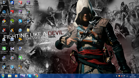 Assassin's Creed 4: Black Flag Desktop Wallpaper by AndyBsGlove
