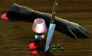 Chianti and Fava Beans by JohnMo