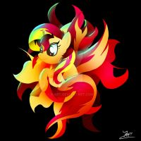 Sunset Shimmer Solo by Ilona-the-Sinister