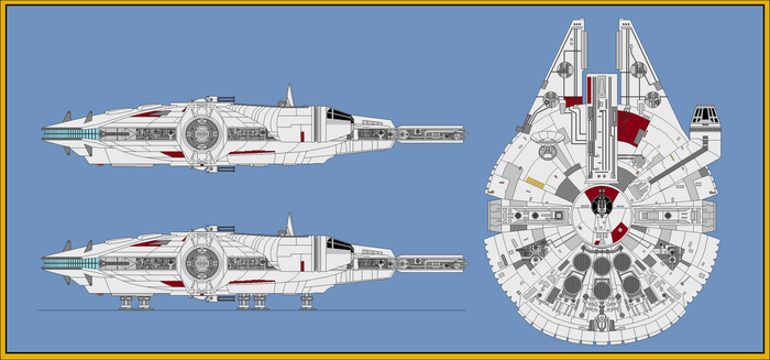 CEC YT-1300 Stock Light Freighter by wingzero-01-custom