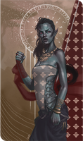 Dunmer Gal Tarot by ARTTAiR