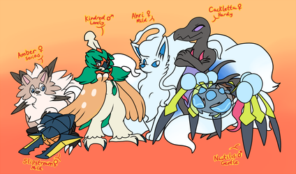 The Squad by Inika-Xeathis