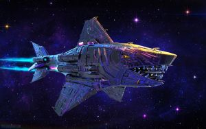 +Errant Knight Hunter Cruiser I+ by ERA7