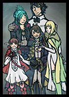 FE13: Tactician's Family by Miyukitty