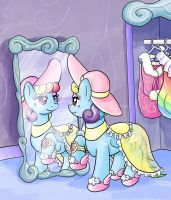 EqD ATG II - Day 24 - Pony With a Secret by muffinshire