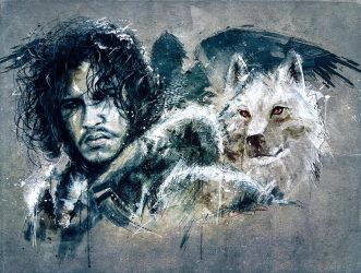 Jon Snow by xAteyox