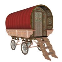 Gypsy Wagon 2 by markopolio-stock