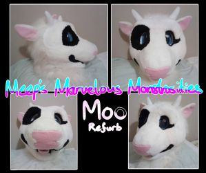 Moo the Cow refurb by HandsterButtonz