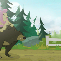 Bearback riding by BrutalWeather