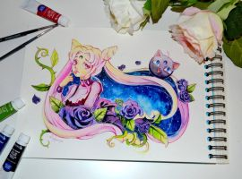 Wicked Lady and Lunap by Lighane