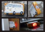 VW-bus flash USB drive by Devilry