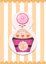 Cup Cakes : Candy Idyll' by Citronade-Arts