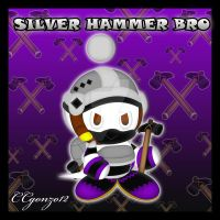 Silver Hammer Bro Chao by CCmoonstar23