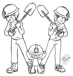 PKMNRB - Construction Crew by caat