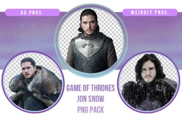 Game of Thrones Jon Snow PNG Pack by Weirdly-PNGS