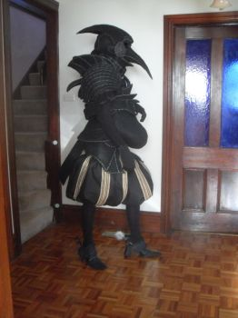beaked armour costume by style-in-simplicity