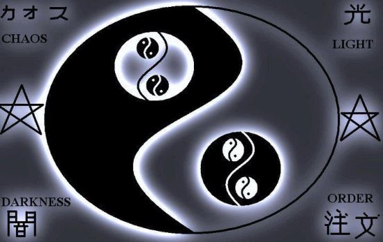 The Eternal Yin Yang of Order and Chaos by ZodyZappa