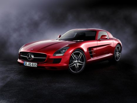 Mercedes SLS AMG by MUCK-ONE