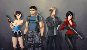 Resident Evil Team by Silent-fly