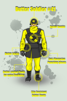 Butter Soldier Number 41 by Mav-22