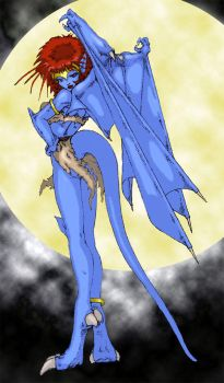 Demona color version by LWMax