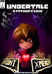 Undertale - A father's love comic cover by Dormin-Kanna