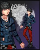 Mysterious Boy and Smoke Familiar AB by Lacroa by M1karu
