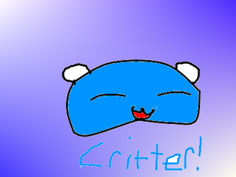 Crappy Drawings: Critter by Mike3k9