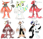 COLLAB MONSTER ADOPTS | OPEN | by Clowncrime