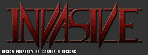 Invasive Band Logo Sample 01 by Corvus6Designs