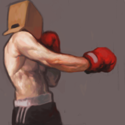 The Boxer by ErSera