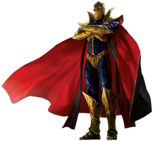 Dr.Fate transparent  by Spider-maguire