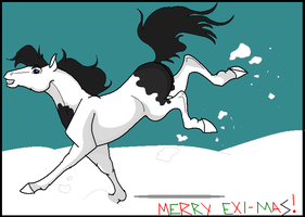 Snowday -- Exi-Mas by Luv-Bugg