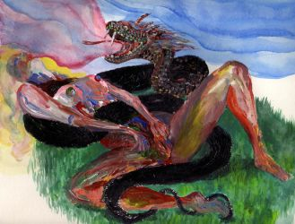 Darlings and Dragons after Fishermans Wife by SimpleHeady