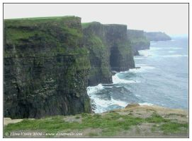 Ireland, the Cliffs of Moher,1 by Lluhnij